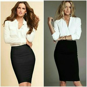 Body by Victoria Pencil Skirt